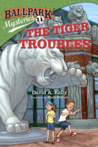 The Tiger Troubles - Ballpark Mysteries #11