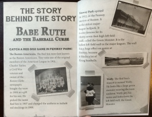 Cool stuff at the end of Babe Ruth and the Baseball Curse